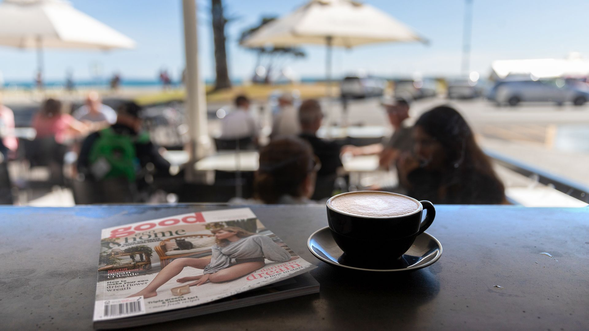 Best view a coffee can buy | Deckchair Cafe
